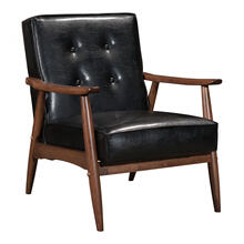 See Details - Rocky Arm Chair Black