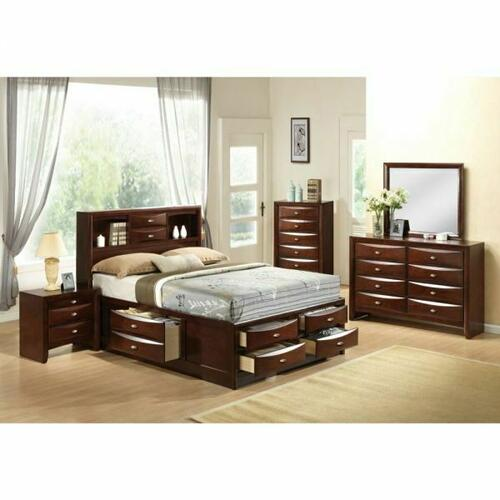 ACME Ireland Full Bed w/Storage - 21590F - Espresso