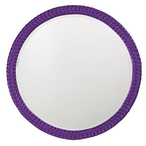 Howard Elliott - Amelia Mirror - Glossy Royal Purple