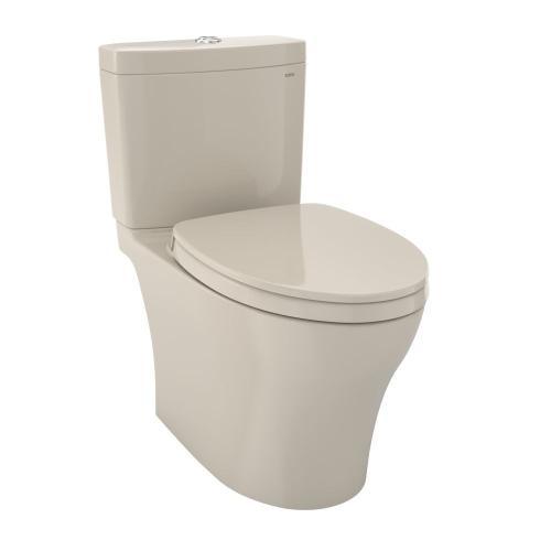 Aquia® IV - 1G - Toilet - 1.0 GPF / 0.8 GPF - with Seat - Bone