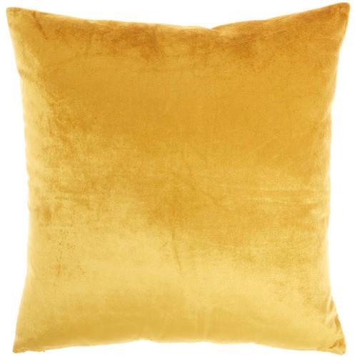 """Sofia Ac384 Gold 20"""" X 20"""" Throw Pillow"""