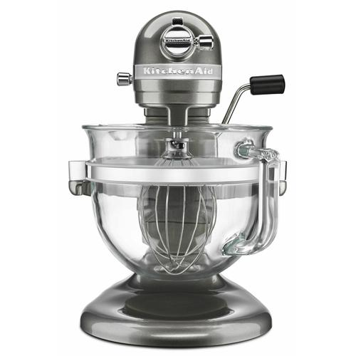 Gallery - Professional 6500 Design™ Series 6 Quart Bowl-Lift Stand Mixer - Medallion Silver