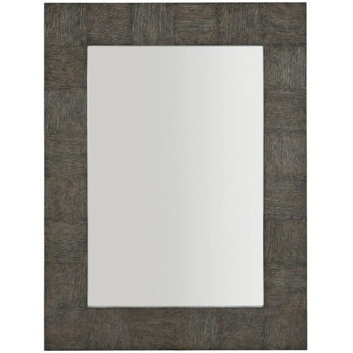 Bernhardt - Linea Mirror in Cerused Charcoal (384)