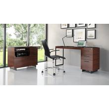 View Product - Sequel 20 6114 3 Drawer File Cabinet in Chocolate Walnut Black