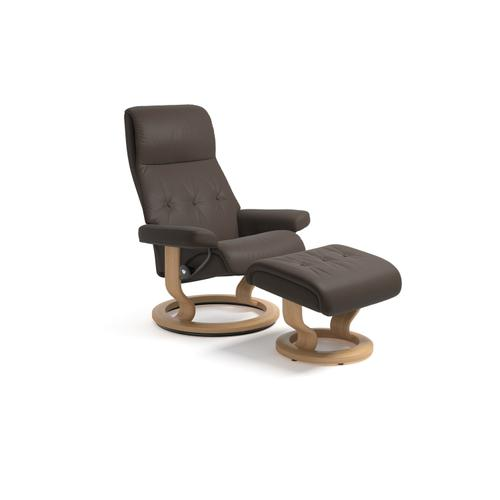 Stressless By Ekornes - Stressless Sky Large Classic Base Chair and Ottoman