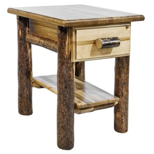 Product Image - Glacier Country Collection Nightstand with Drawer