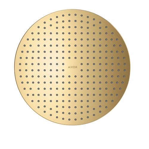Brushed Gold Optic Overhead shower 300 1jet ceiling