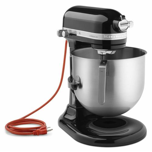 Gallery - NSF Certified® Commercial Series 8-Qt Bowl Lift Stand Mixer - Black