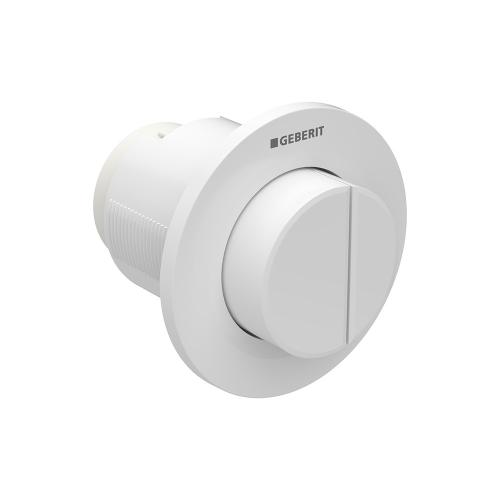 Type 01 Remote flush buttons for Sigma and Omega series in-wall toilet systems Concealed installation, Sigma or Omega 2x6 in-wall systems Compatibility Alpine white (raised buttons for accessible design) Finish