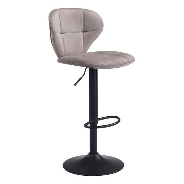 See Details - Salem Bar Chair Gray