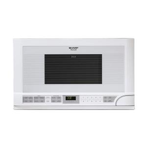 Sharp Appliances1.5 cu. ft. 1100W White Sharp Over-the-Counter Carousel Microwave Oven