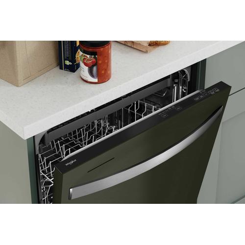 KitchenAid - Large Capacity Dishwasher with 3rd Rack - Fingerprint Resistant Black Stainless