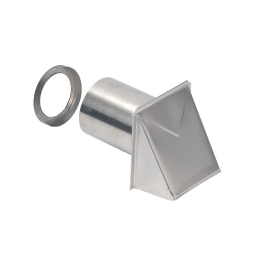 Product Image - Broan-NuTone® Wall Cap, Aluminum, 4-Inch Round Duct
