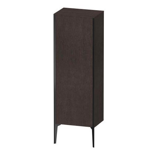 Duravit - Semi-tall Cabinet Floorstanding, Brushed Dark Oak (real Wood Veneer)