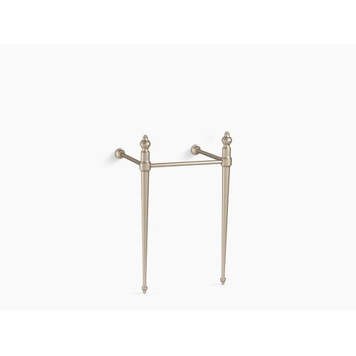 Vibrant Brushed Bronze Console Table Legs for K-29999 Memoirs Sink
