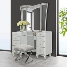 View Product - Vanity Desk & Mirror 2 PC