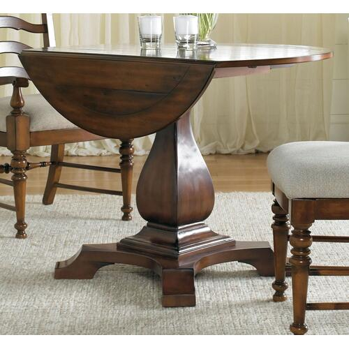 Dining Room Waverly Place Round Drop Leaf Pedestal Table