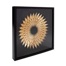 View Product - Inca Star of Gold Framed Art