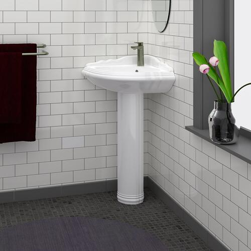Product Image - Ethan Corner Pedestal Lavatory