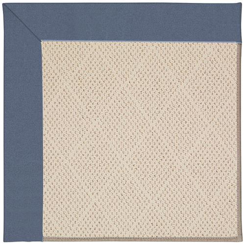 Creative Concepts-White Wicker Canvas Sapphire Blu Machine Tufted Rugs