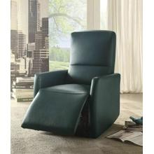 ACME Raff Recliner (Power Motion) - 59407 - Blue Leather-Aire