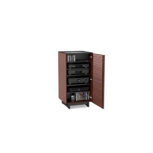 BDI Furniture - Corridor 8172 Audio Tower in Chocolate Stained Walnut