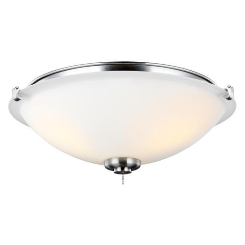 3 - Light LED Light Kit - Brushed Steel