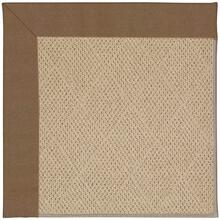 "Creative Concepts-Cane Wicker Canvas Cocoa - Rectangle - 24"" x 36"""