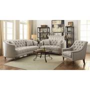 Avonlea Beige Three-piece Living Room Set Product Image
