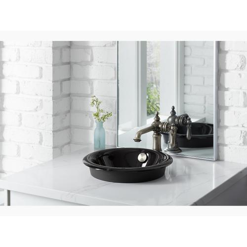Lavender Grey Drop-in/undermount Bathroom Sink