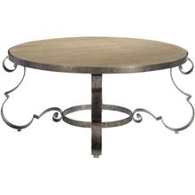 View Product - Villa Toscana Round Cocktail Table in Criollo (302)