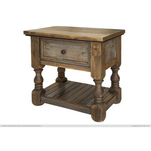International Furniture Direct - 1 Drawer Nightstand