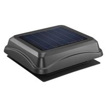 Broan 537 CFM Solar Powered Attic Ventilator, Surface Mount, Black