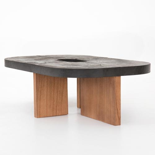 Arnell Coffee Table-grey Concrete