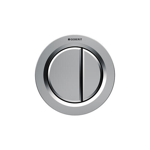 Type 01 Remote flush buttons for Sigma and Omega series in-wall toilet systems Furniture installation, Sigma or Omega 2x6 in-wall systems Compatibility Matte chrome Finish