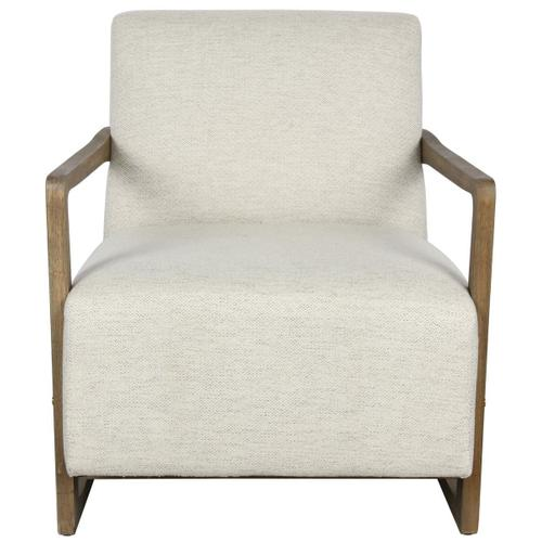 Classic Home - Conley Accent Chair Pearl White