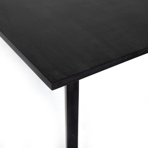 Axel Dining Table-black Wash Poplar