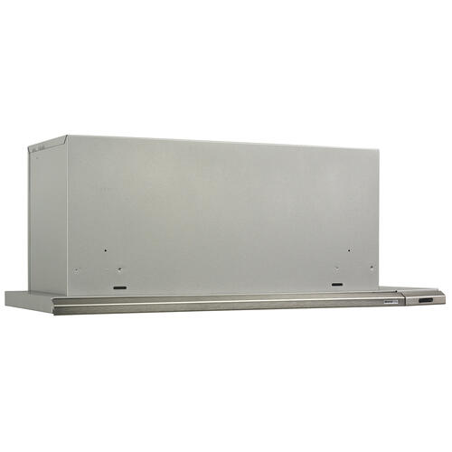Broan® Elite 36-Inch Under-Cabinet Slide-Out Range Hood w/ Light, Brushed Aluminum