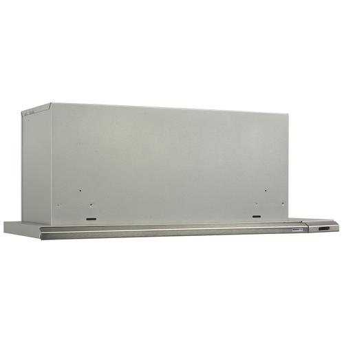 Broan® Elite 30-Inch Under-Cabinet Slide-Out Range Hood w/ Light, Brushed Aluminum