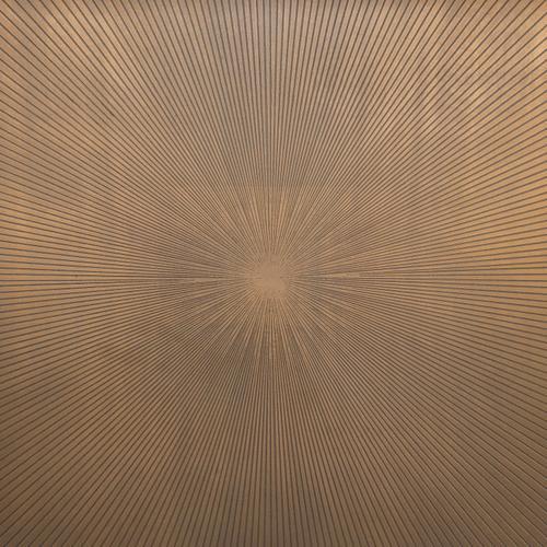 Abel Sunburst Rectangle Coffee Table