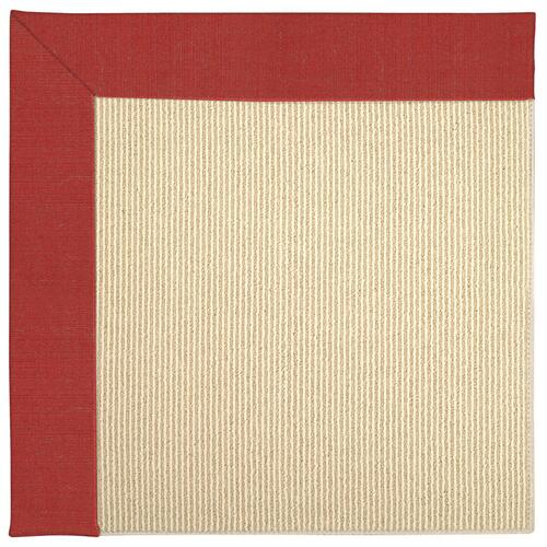 Creative Concepts-Beach Sisal Dupione Crimson Machine Tufted Rugs