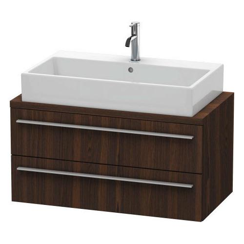 Duravit - Vanity Unit For Console Compact, Brushed Walnut (real Wood Veneer)