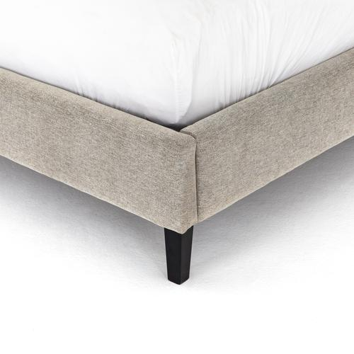"""King Size Twill Linen Cover Jefferson Bed - 60"""""""