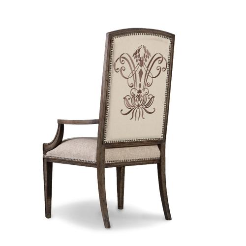 Hooker Furniture - Rhapsody Insignia Arm Chair - 2 per carton/price ea