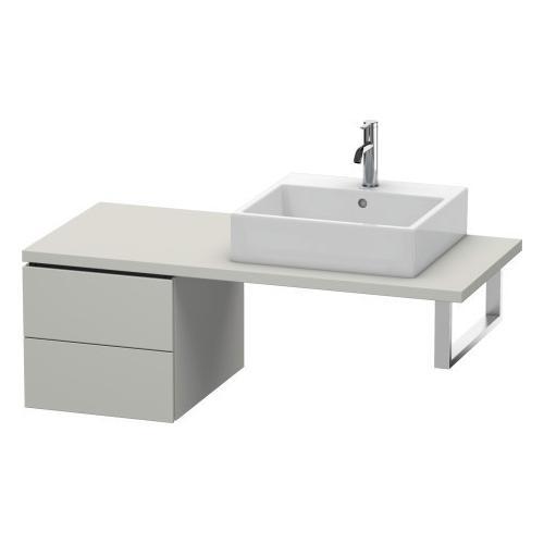 Duravit - Low Cabinet For Console, Concrete Gray Matte (decor)
