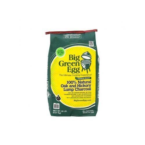 Big Green Egg - 100% Natural Oak & Hickory Lump Charcoal, 20 lb.