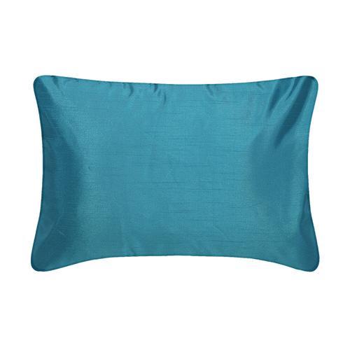 Faux Silk Reversible Boudoir Pillow - Plum/Purple