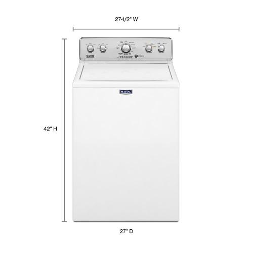 Maytag - Top Load Washer with the Deep Water Wash Option and PowerWash® Cycle - 4.2 cu. ft.