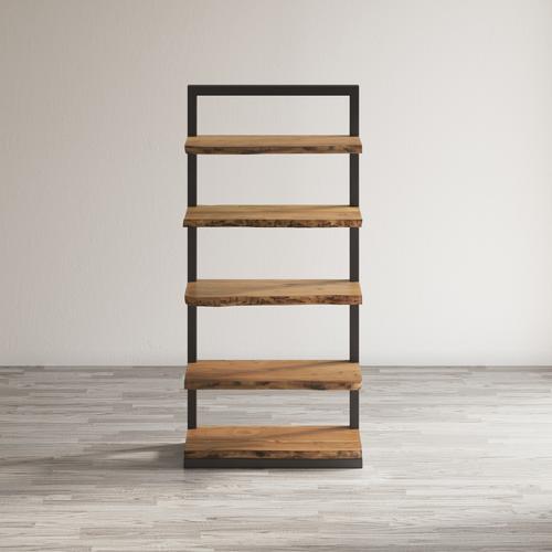 Jofran - Nature's Edge 5 Shelf Bookcase-natural