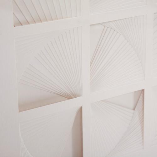 Howard Elliott - Dimensional Paper Squares Shadowbox Art
